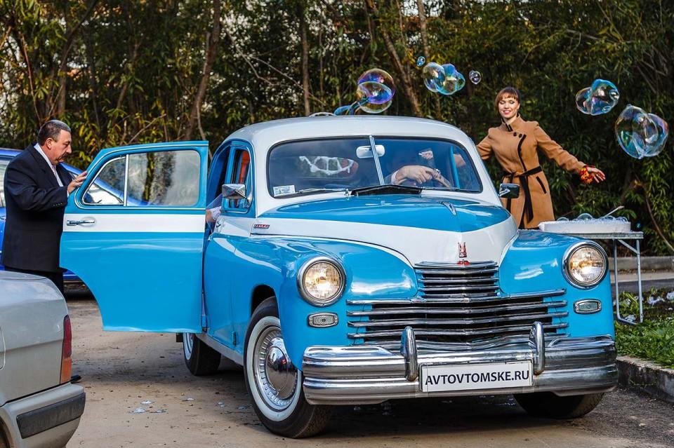 свадебная ретро машина в Томске
