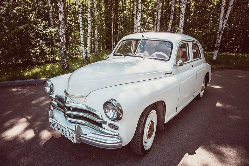 Ретро авто на прокат в Томске