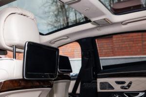 Mercedes S-Class w 222 белый