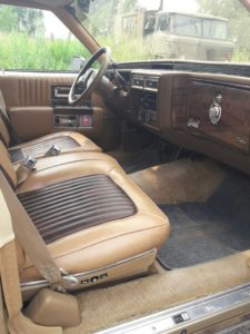 Cadillac Fleetwood прокат на свадьбу томск