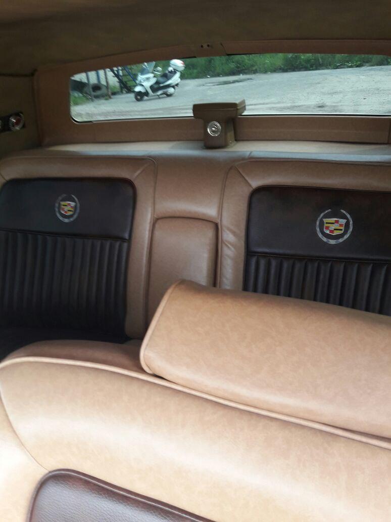 Cadillac Fleetwood  золото