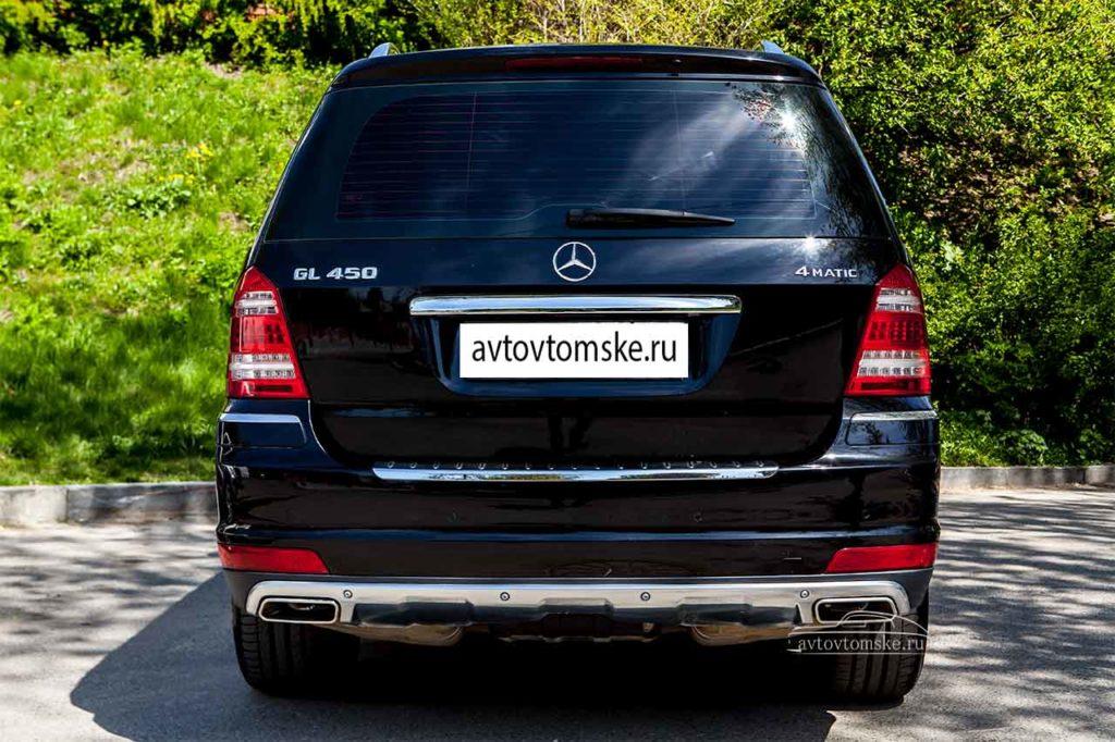 Мерседес GL 450 черный + Северск