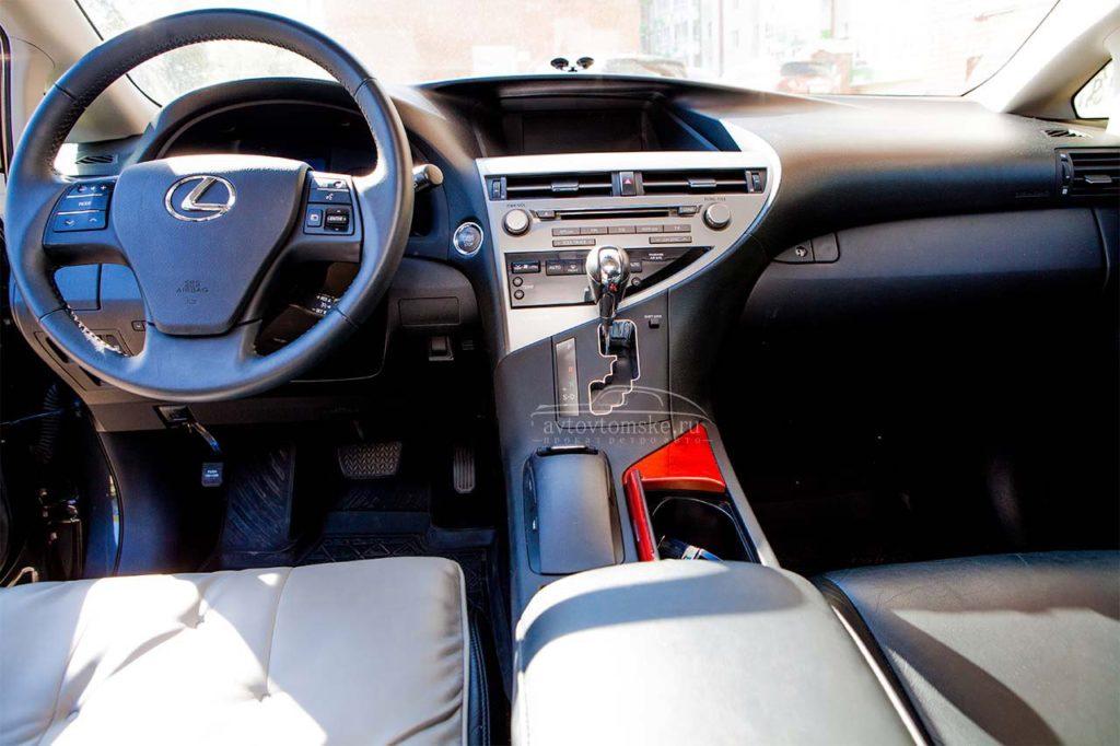 Лексус RX 350 серый + Северск