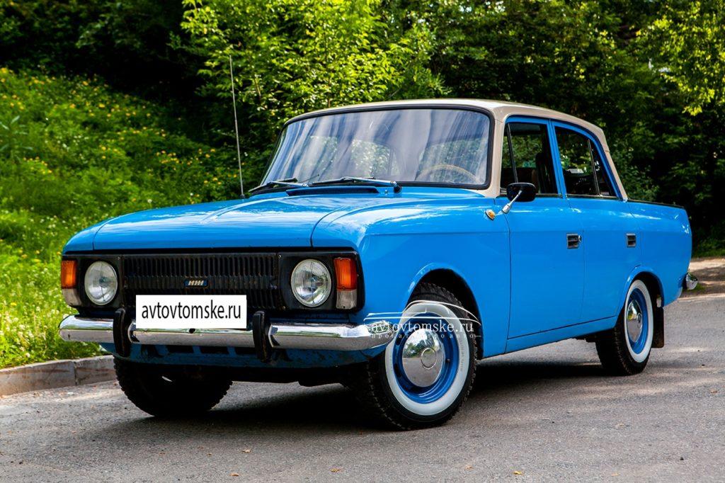 москвич ретро авто в Томске